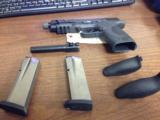 SMITH & WESSON M&P45 W/THREADED BARREL - 5 of 10
