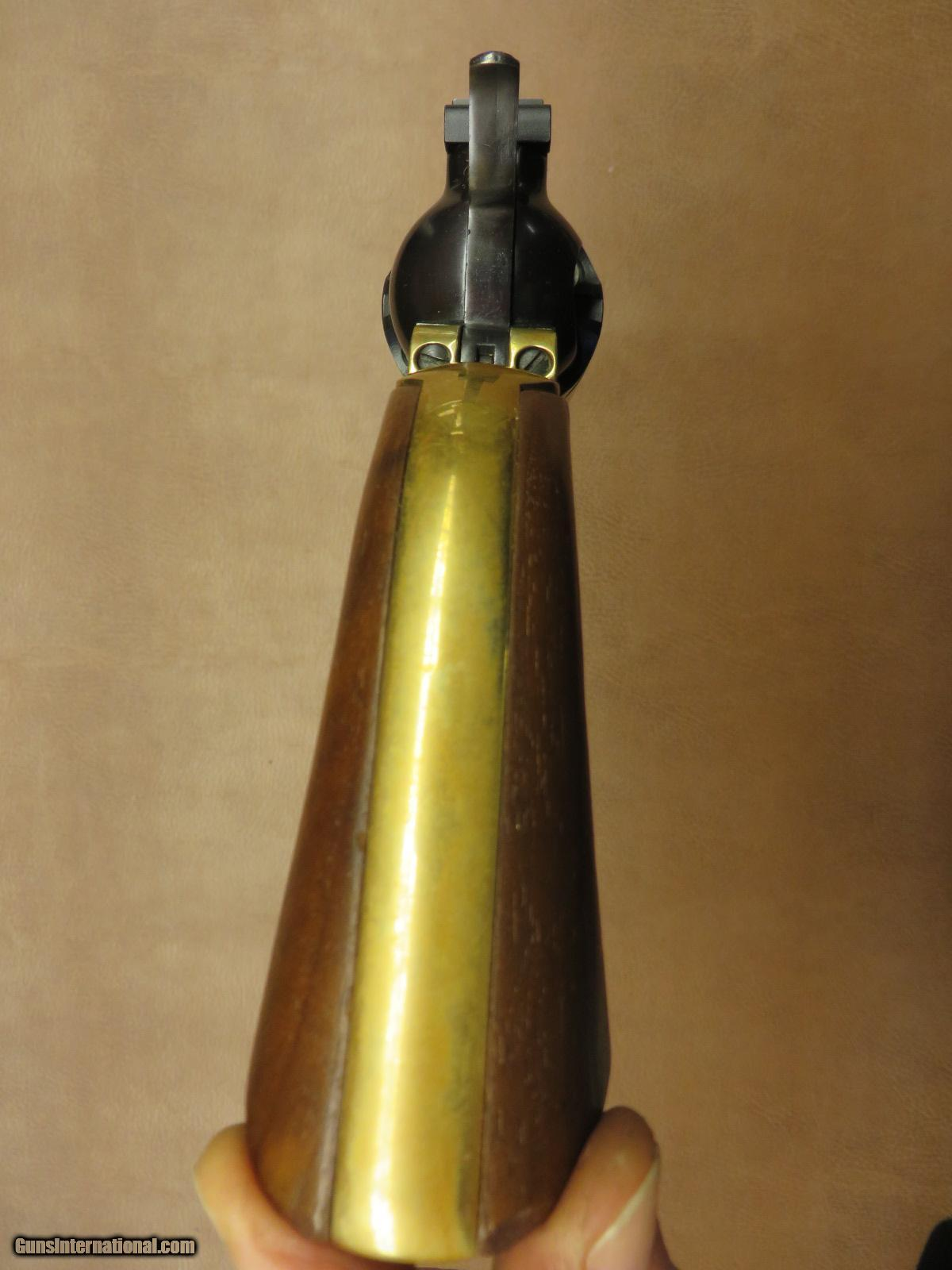 Ruger Old Army With Brass Grip Frame