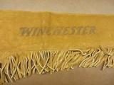 Winchester Split Leather Fringed Gun Sleeve
