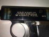 Webley & Scott .38 ACP Automatic Pistol Type 3 - 2 of 4