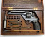 Webley Fosbery Model 1902 .38 ACP 8 Shot