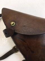 Webley .455 Revolver Holster Naval Issue - 2 of 7