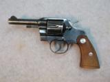 1962 Colt Official Police 38 Special Revolver Stk# A064