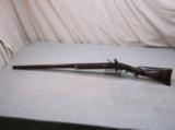 R. Ulin Custom Built Flintlock Double 20 Gauge Shotgun
