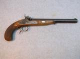 Hege-Siber Match 33 Caliber Percussion Muzzleloading Pistol