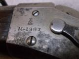 Danish Model 1867 Rolling Block Single Shot Rifle 11.7X42R