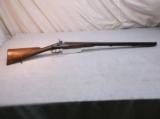 Original Antique Belgian 12ga. Double Percussion Muzzleloading Shotgun