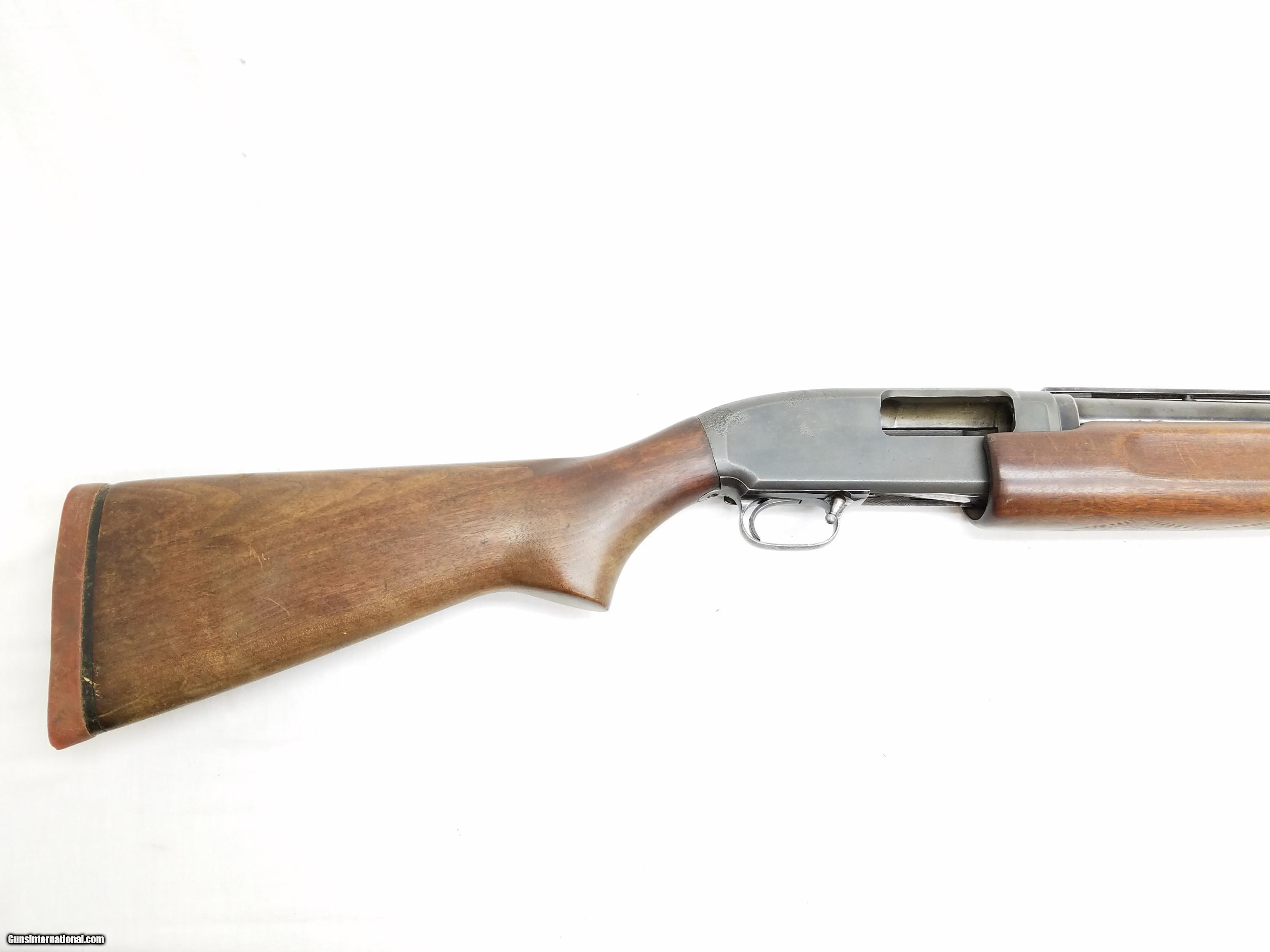 dating winchester model 12 shotguns More than 40 years ago, the model 1100 forever changed the way american shooters viewed autoloading shotguns it was the first autoloader to combine the repeat-shot versatility of early-century models with the sleek, modern lines and handling qualities of revered double barrels.