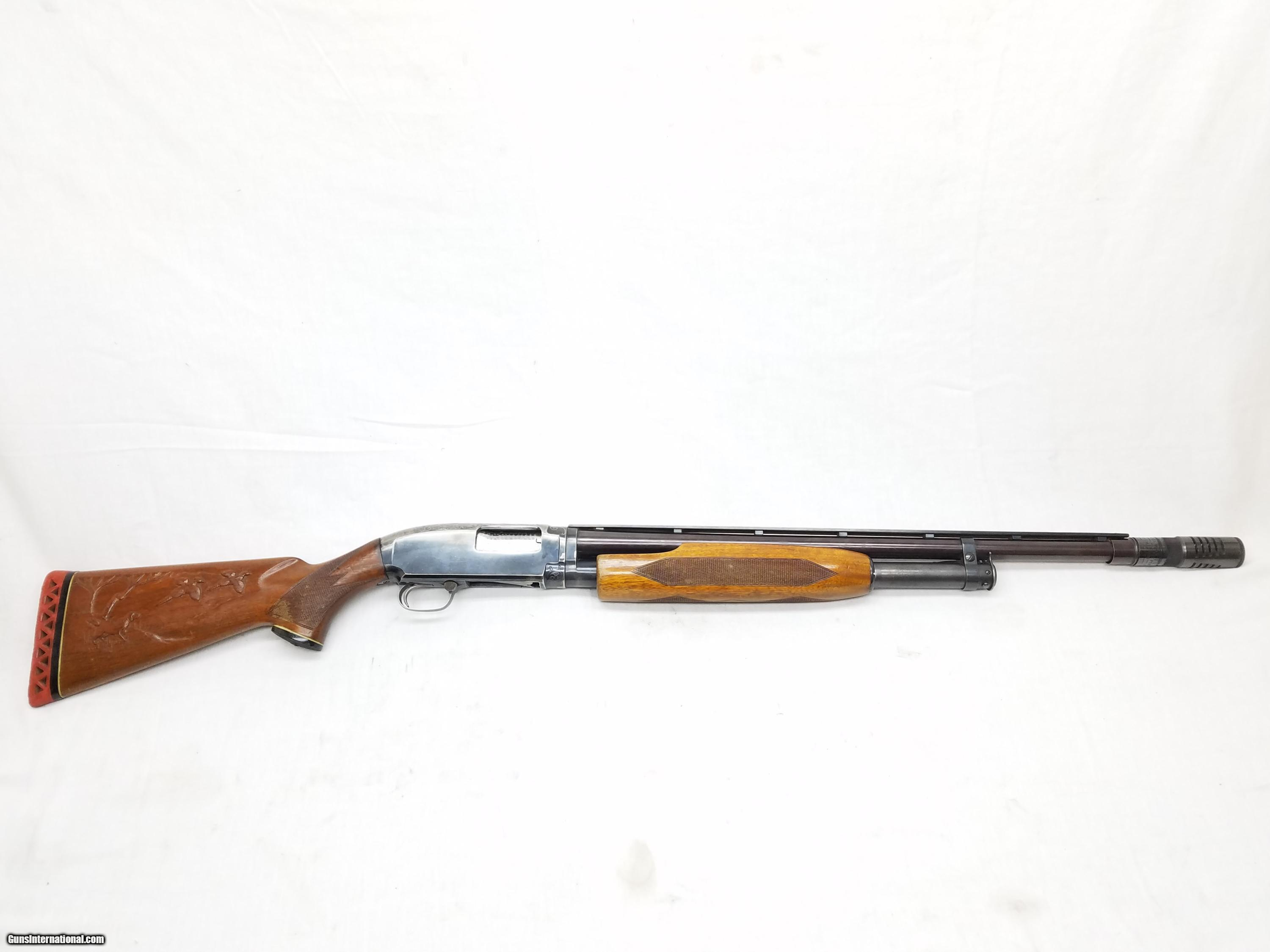 Single pump model 12 shotgun 12 ga by winchester repeating arms co stk a170