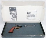 1860 Colt Army - Steel Frame - 2nd Generation - 44Cal by Colt Stk# P-28-93