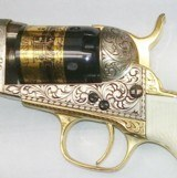 1848 Colt - Baby Dragoon - Cased -Gold Plated - Steel Frame - 31Cal by US Historical Society Stk# P-87-90 - 6 of 8