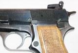Browning - Hi-Power - Belgium Made - 9mm Stk# A728 - 5 of 8