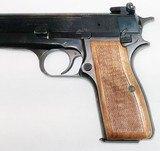 Browning - Hi-Power - Belgium Made - 9mm Stk# A728 - 4 of 8