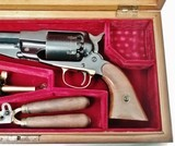 1858 Remington - Steel Frame - 44Cal – Cased – by Hawes - Italy Stk# P-31-2 - 2 of 17