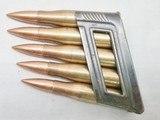 Austrian – 8x56mmR – WWII Ammo – 1938 Production – Stk #C105 - 4 of 6