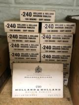 Holland and Holland 240 Ammunition