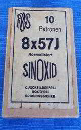 SEALED BOX OF German