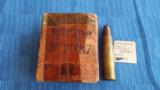 ORIGINAL 1892 BOX OF 10.4x47R mm ITALIAN VETTERLI