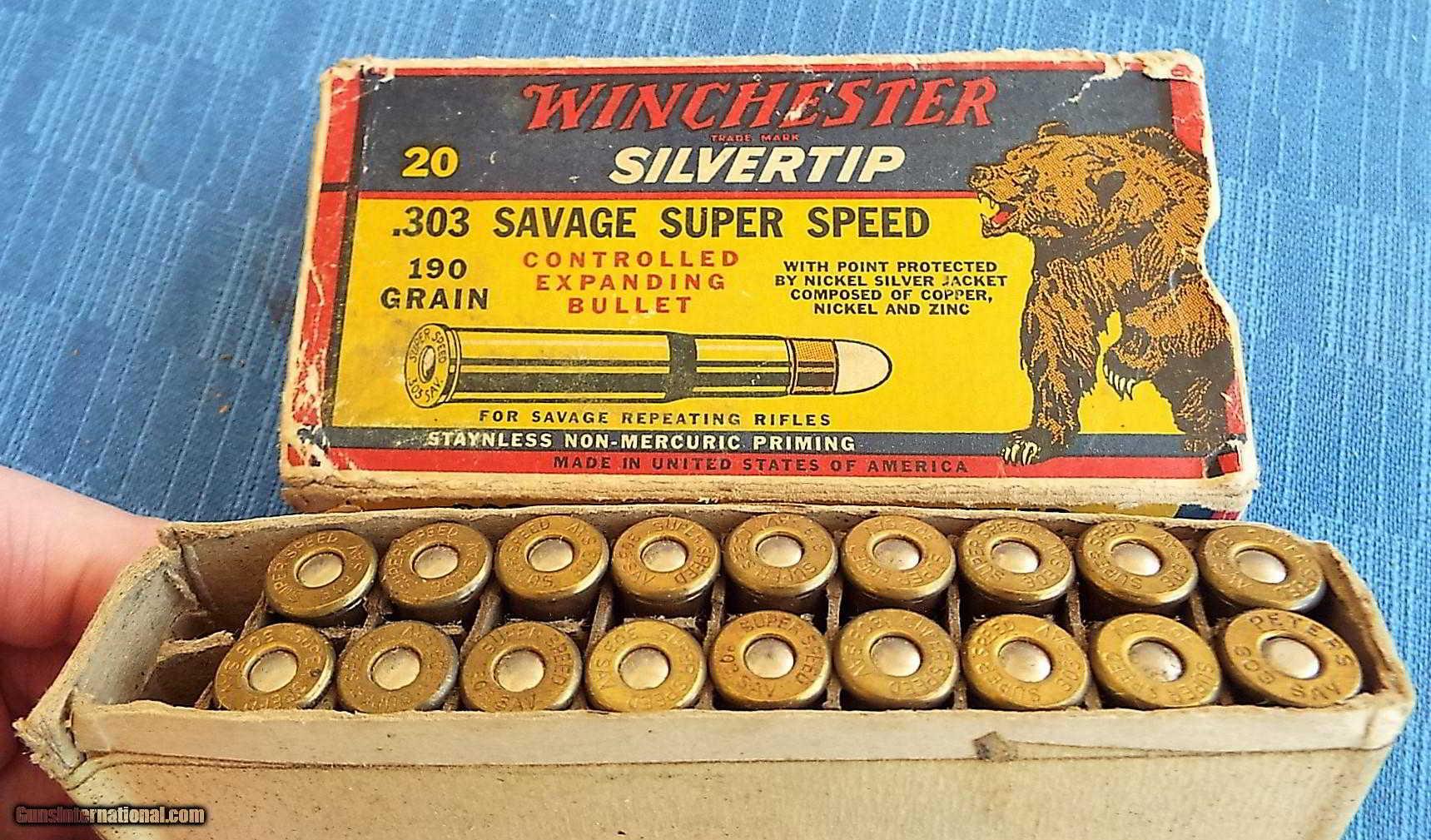 bullets vintage winchester