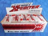 WINCHESTER ~ WESTERN * XPEDITER * SUPER X~ XTRA HIGH VELOCITY .22 LONG RIFLE 29 GR. HOLLOW POINT AMMO ~ BRICK OF 500 (NOS)