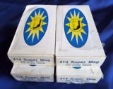 "VINTAGE ORIGINAL BOX OF DAN WESSON 414 SUPER MAG AMMO 220 GRAIN FULL PROFILE JACKET ""GATES HEADSTAMP"" - 1 of 7"