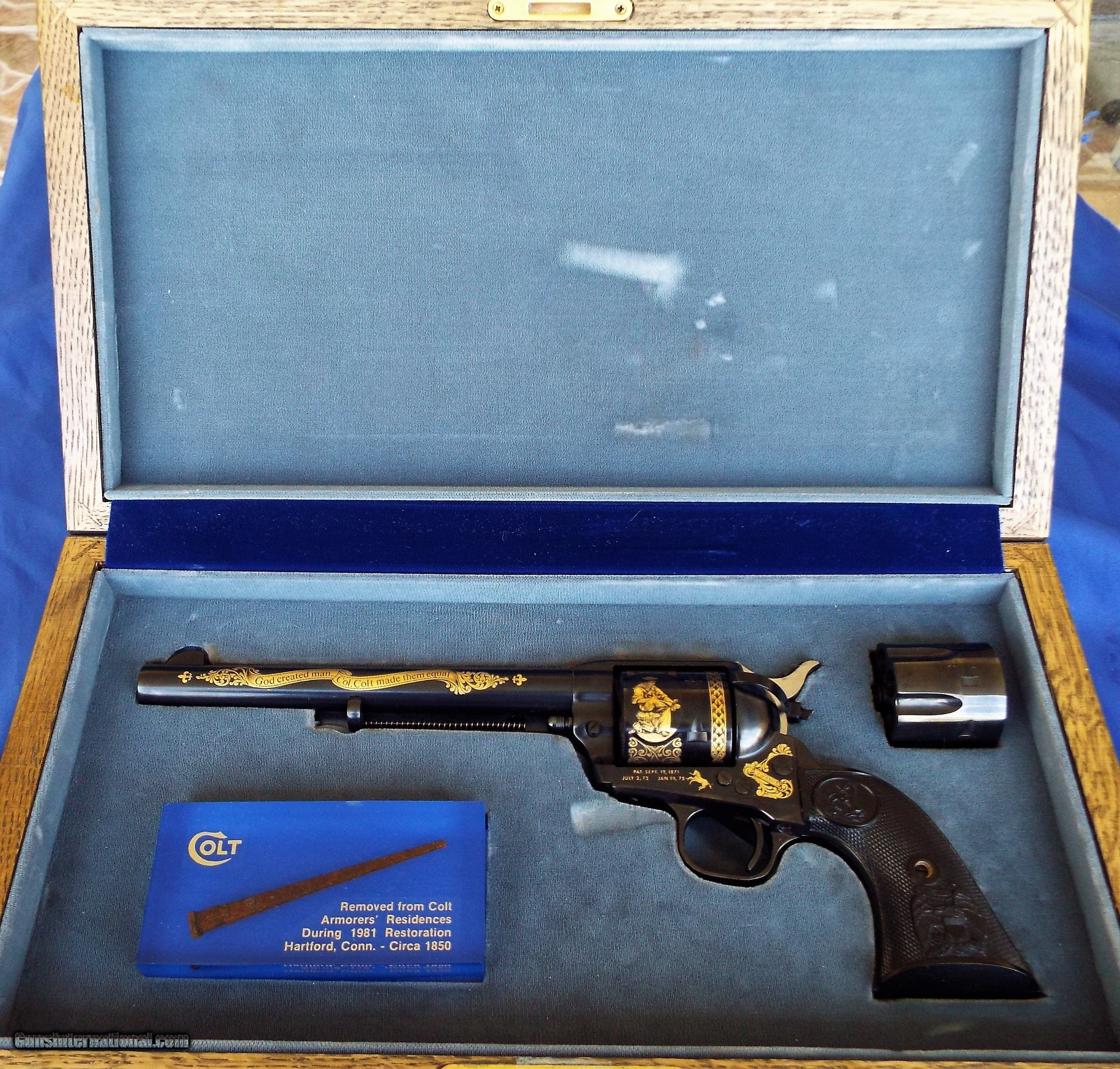 1981 COLT Single Action Army