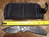 MARFIONE CUSTOM / MICK STRIDER * DOC * Prototype Custom Knife ~ Double Action Ser # 27 ~ Dealer NEW!