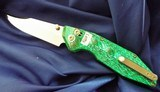 WILL MOON Custom BANSHEE knife LEFTY!! Bowie ~ GLOWS IN THE DARK! NEW in POUCH - 11 of 11