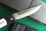 "PROTECH BREND #2 Small Size 1251 ""Tuxedo"" Auto Knife ~ Ivory Micarta ~ Satin BladeNIB (Dealer) - 5 of 11"