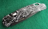 ProTech TR-5 AUTO ~ SPIDER WEB LASER ENGRAVED T503 DLC New in Box (Dealer)