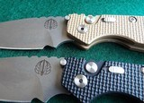 PROTECH STRIDER SnG KNURLED ALUMINUM(Tan or Black) AUTO KNIVES WITH LOCK & STONEWASH PLAIN BLADES (NIB) dealer - 6 of 10