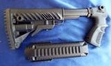 870 Remington 12ga Tactical Shotgun Adjustable Pistol Grip STOCK SET with Rails by MAKO GROUP *NEW*