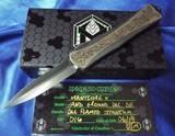 Heretic Knives Custom Manticore X OTF Flamed Titanium DLCHand Ground Dagger (2019 Blade Show) Serial #016 NIB