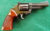 """Smith & Wesson S&W Model 19-3 357mag. 4"""" barrelBright Blue ~ Excellent Condition 1975"""