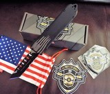 GUARDIAN TACTICAL RECON ELITE US PROTECTIVE SERVICES ISSUEOTF D/A AUTO KNIFENIB