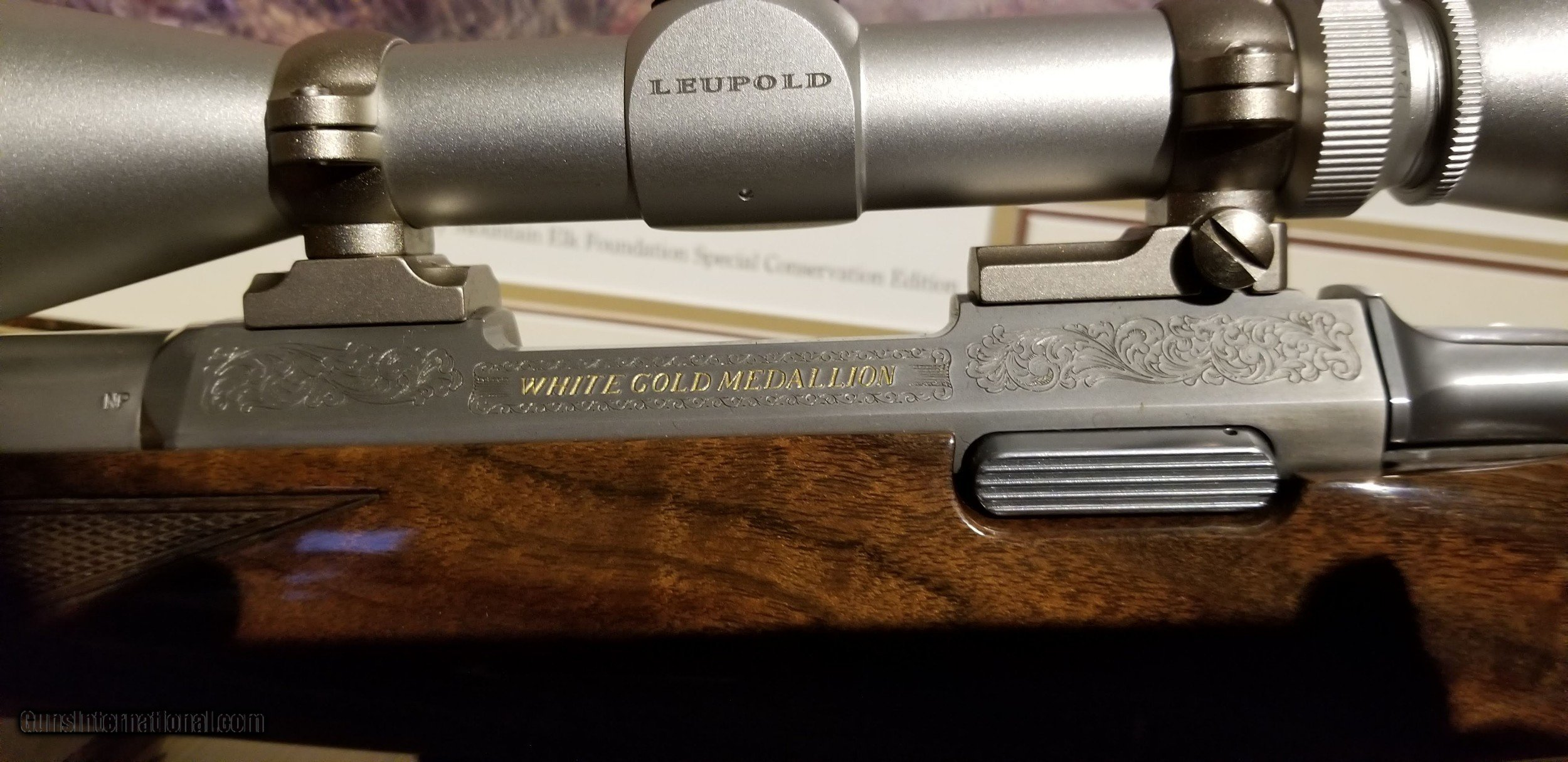 Browning White Gold Medallion A Bolt In 270 Wsm With Rare Octagon Barrel