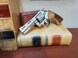 1967 Colt Python .357mag - 4-inch - Nickel Plated