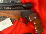 """Thompson Center Contender with 14"""" 30-30 barrel and Bushnell scope - 3 of 5"""