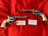 Unfired Consecutive Serial Numbered Single Action Army Second Generation Colts with Factory Letter - 2 of 5
