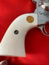 Unfired Consecutive Serial Numbered Single Action Army Second Generation Colts with Factory Letter - 5 of 5