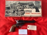 Colt Single Action Army 2nd Gen with Stagecoach Box - 1 of 6