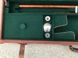 "Fox 20 ga. 28"" barrel gun case custom fitted - 5 of 8"