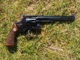 Smith & Wesson Model 35 Revolver 22 Caliber Pistol Serial # 35614