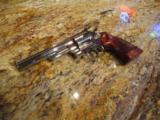 """Smith and Wesson Model 29-2 6"""" Nickel TT,TH,TS - 1 of 7"""