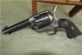 """Colt's S.A.A. .44-40wcf 4 3/4"""" 85% """"1938"""" - 1 of 8"""