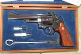 "Smith and Wesson 29-2 6"" Pinned Recessed w/case"