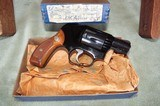 "Smith and Wesson Model 38 ""Airweight"" .38spl. NIB"