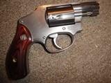 Smith & Wesson Model 640 -38 Cal -No Dash - No Lock - Box - Papers