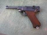 GERMAN DWM 1918 DATED MODEL 1908 9mm LUGER SEMI AUTOMATIC PISTOL