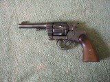 COLT D.A. 41 ARMY & NAVY REVOLVER, DATED 1899. SN. 1295XX.